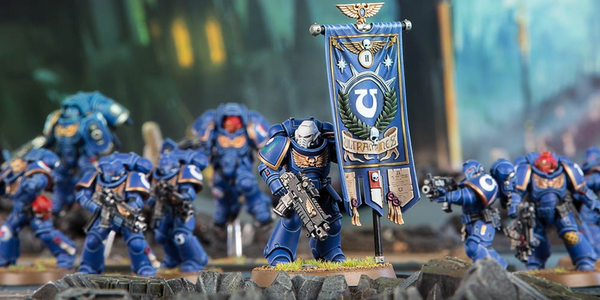 Warhammer Conquest 56: Space Marine Ancients