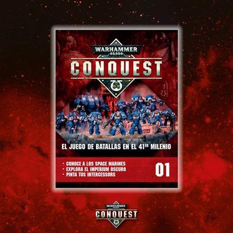 Primera entrega fascículos Warhammer Conquest