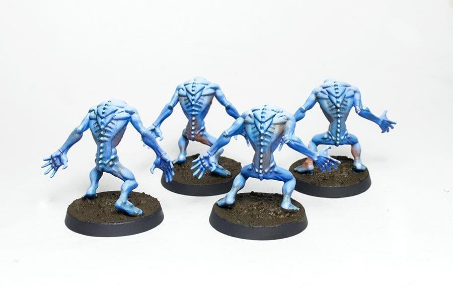 Ur-ghuls unidad espalda