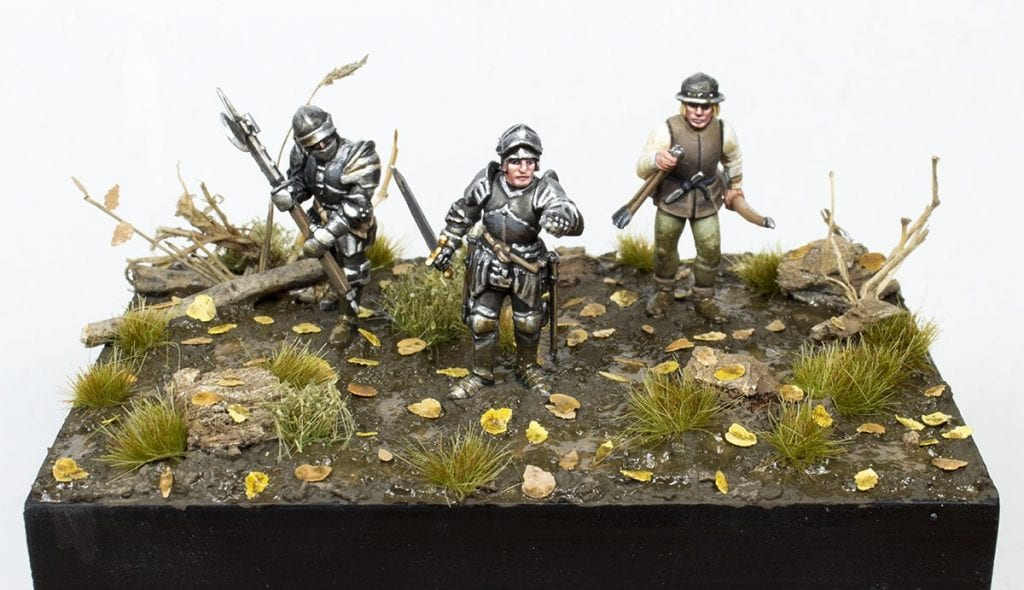Diorama de Iván: Guerra de las rosas