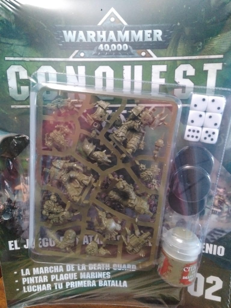 Warhammer conques 2, portada del fasciculo