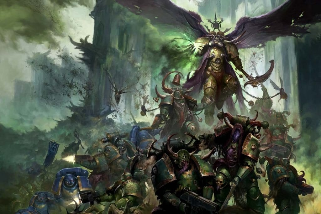 Mortarion y la death guard