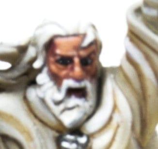 Gandalf el Blanco, pintar la cara