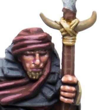 Cuerdas y huesos guerrero haradrim 1