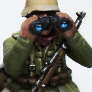 Uniforme verde y marrón  Afrika Korps