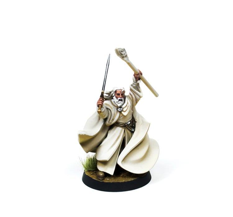 Gandalf el Blanco Frontal