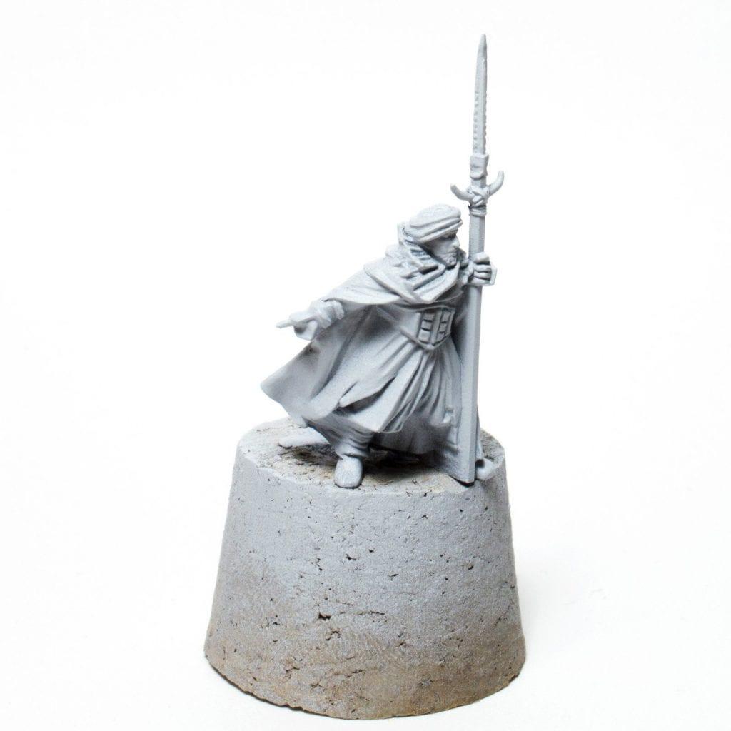 Miniatura imprimada guerrero haradrim