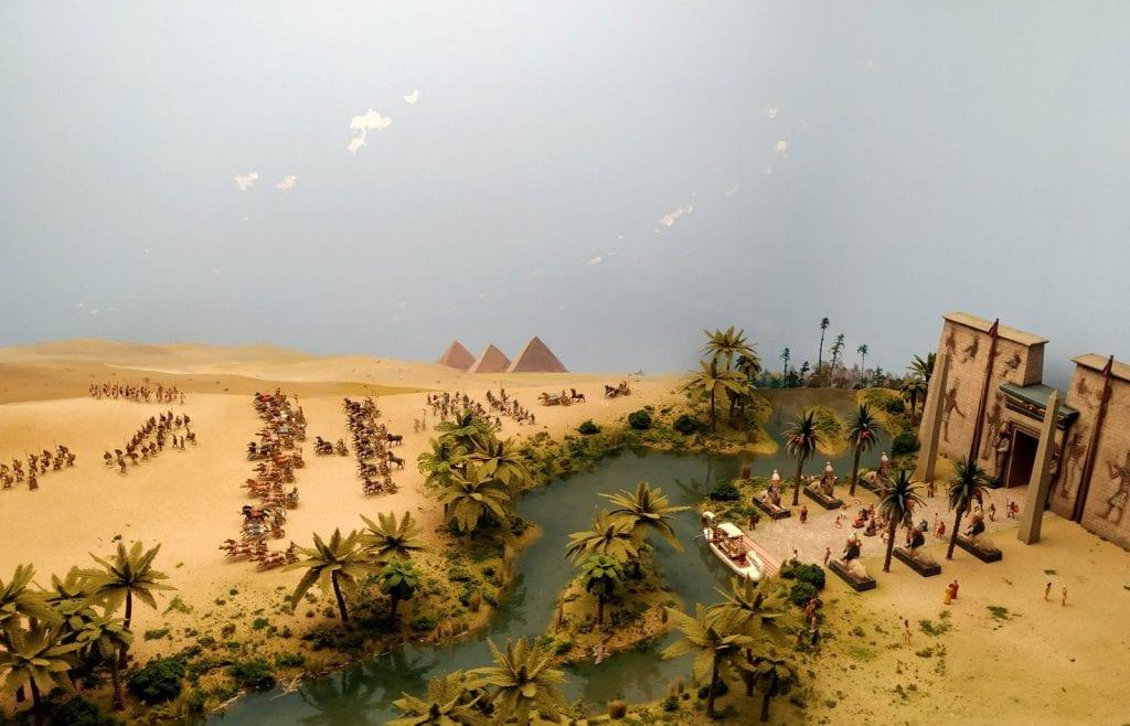 Miniaturas Jaca Egipto