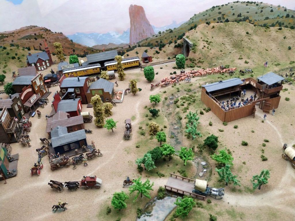 Miniaturas Jaca wild west