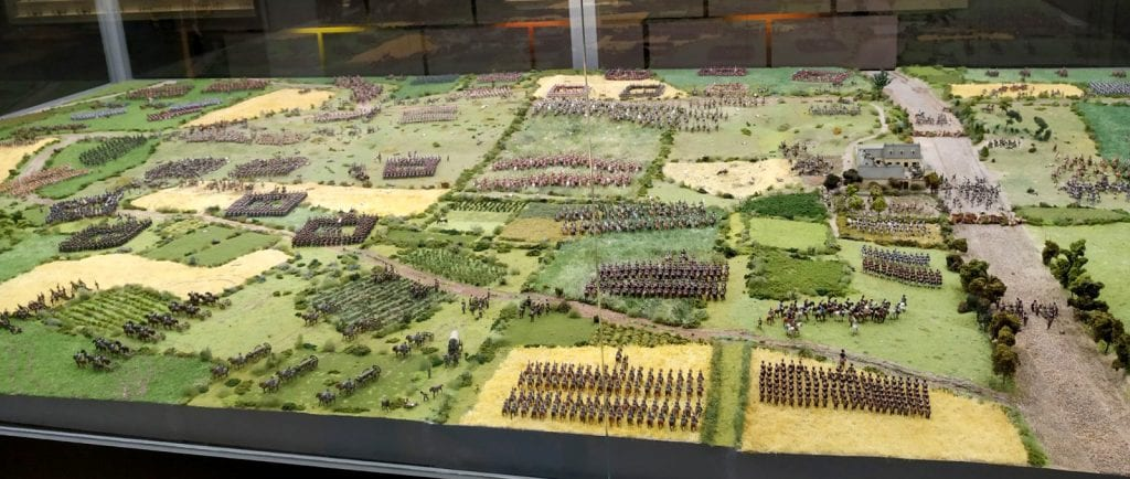 Miniaturas Jaca waterloo