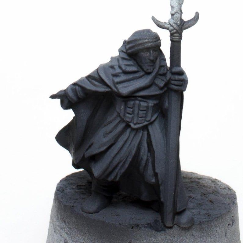 Color negro guerrero haradrim 1