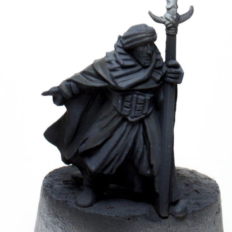 Color negro guerrero haradrim 2