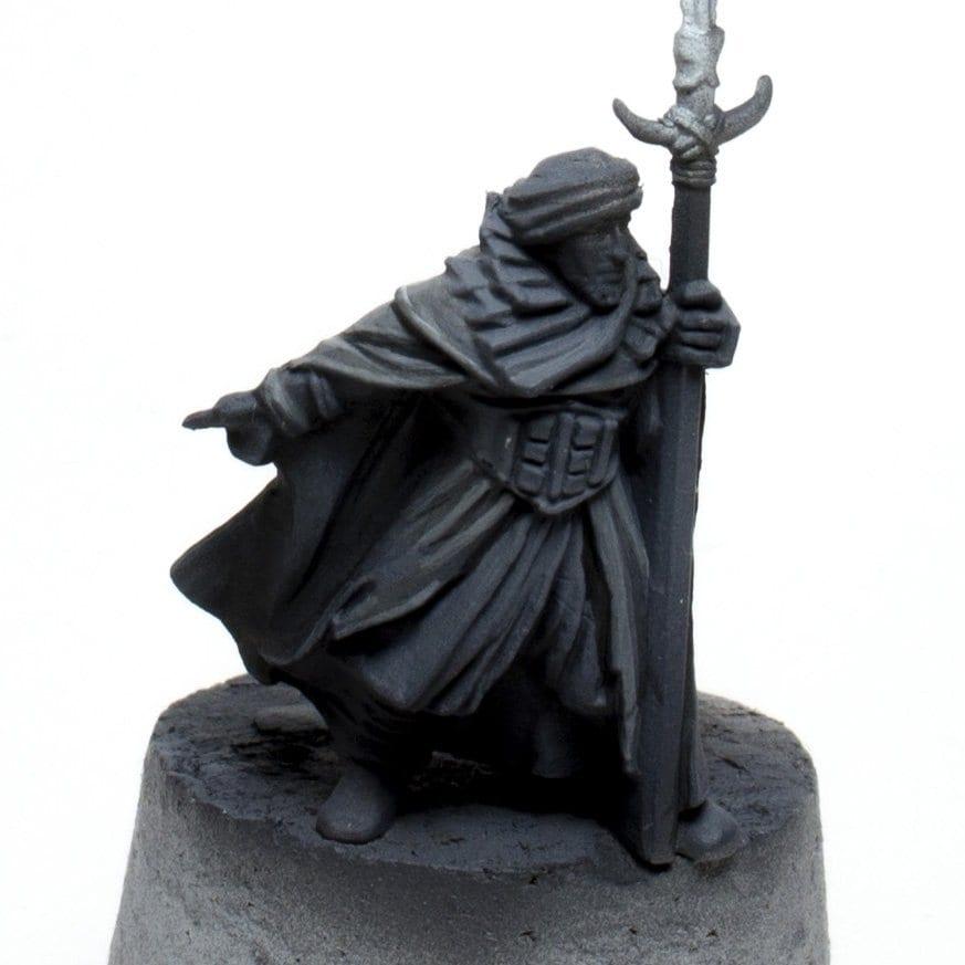 Color negro guerrero haradrim 3