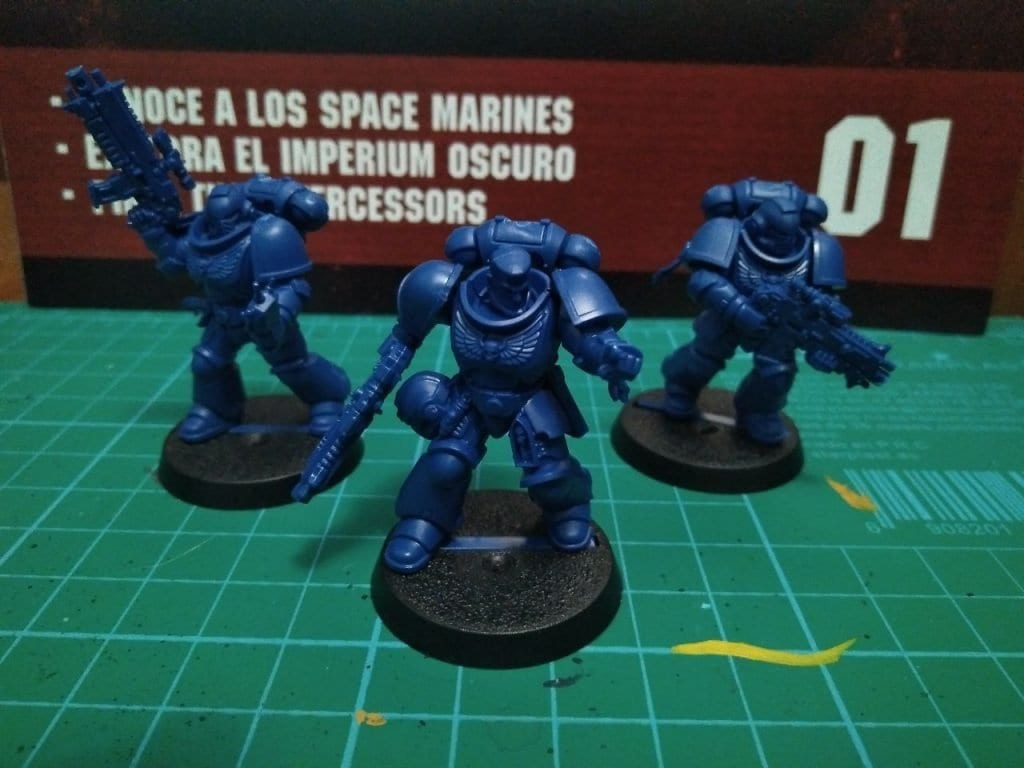 Marines primaris warhammer conquest