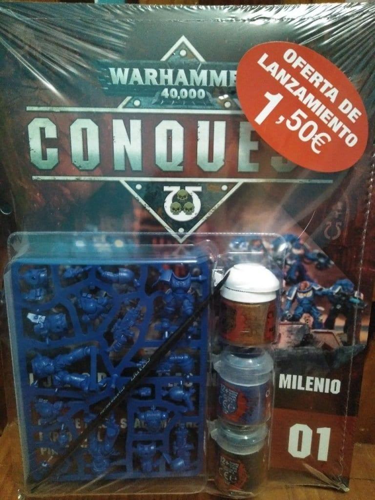 Primera entrega warhammer conquest