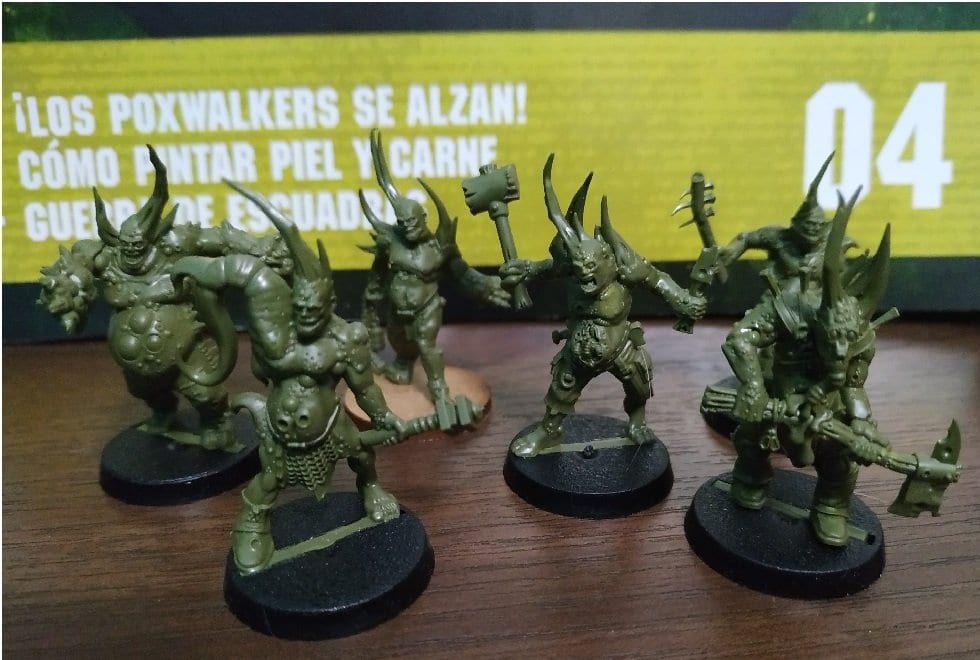 Pox walkers warhammer conquest