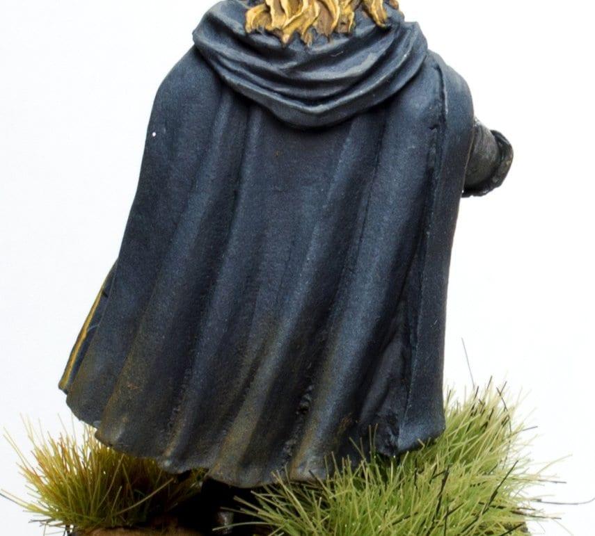 Capa azulada de irolas