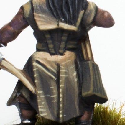 cuero oscuro exploradores Uruk hai