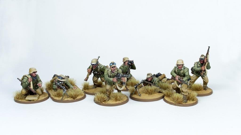 Escuadra Schützen frontal