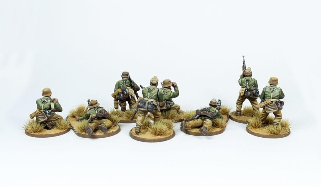Escuadra Schützen trasera