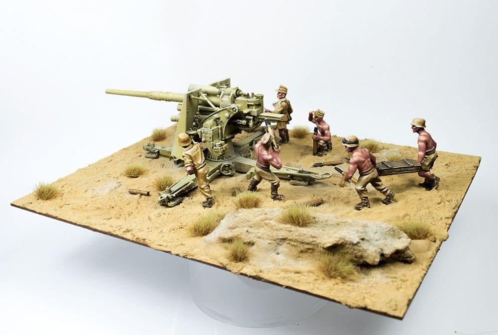 Cómo pintar un Flak 36