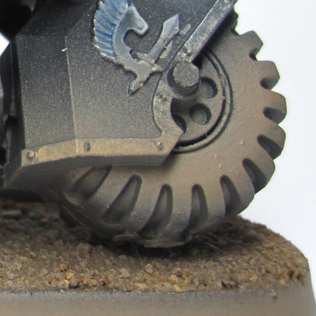 Efecto polvo en ruedo
