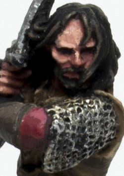 Aragorn como pintar cara