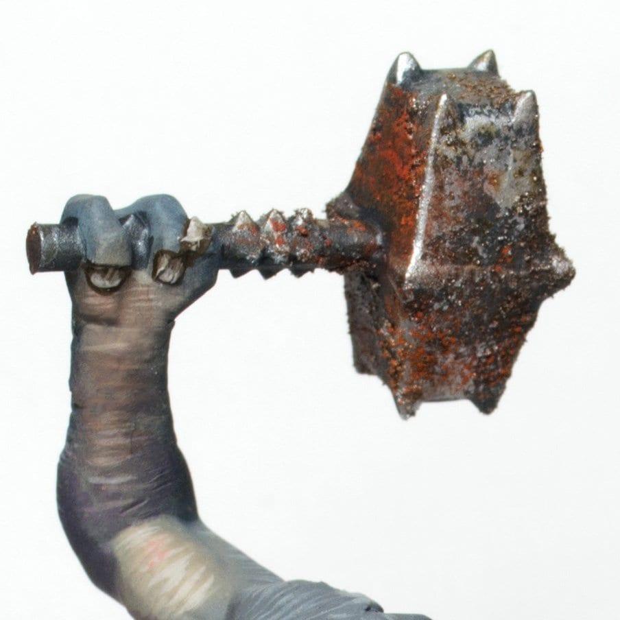 Cómo pintar efecto óxido en un martillo