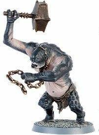 troll de las cavernas minas de moria