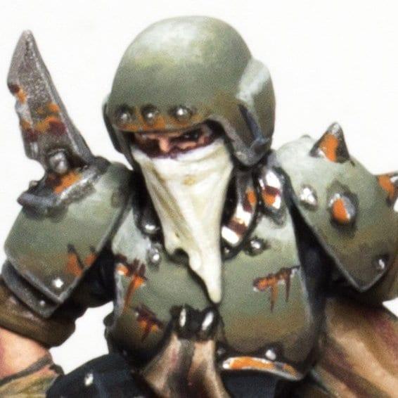 Armadura de guardia imperial traidora