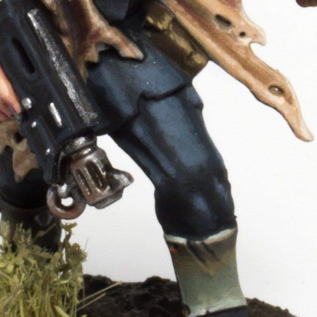 Cómo pintar uniforme azul oscuro traitor guards