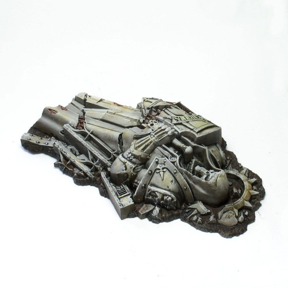 Estatua derruida de Semengum Ultima.