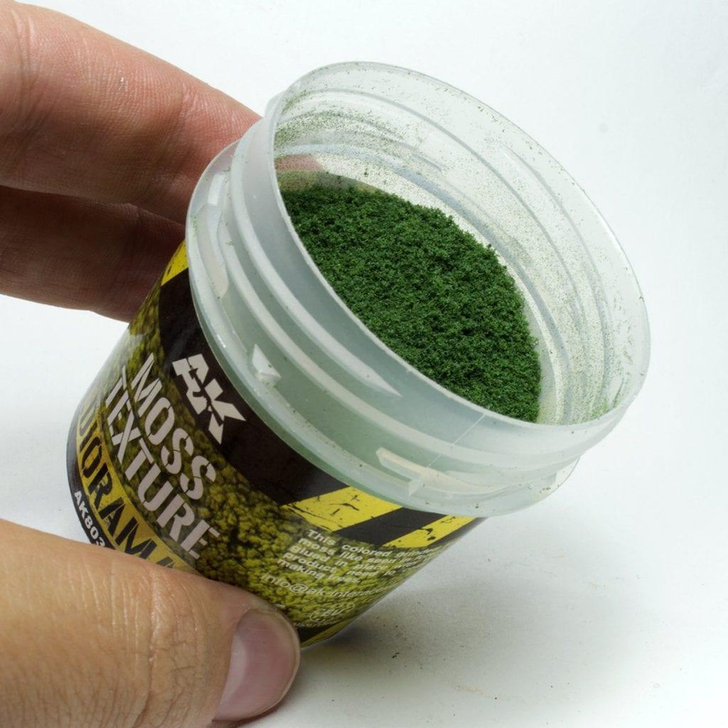 Moss texture para peana selvática