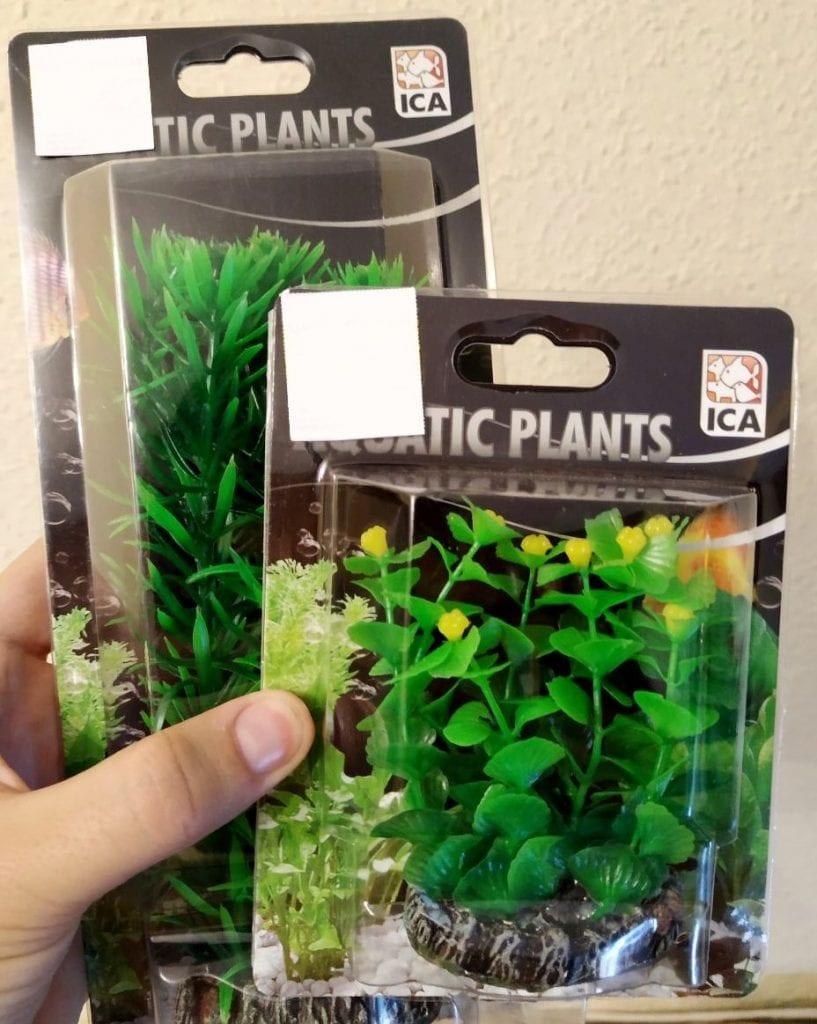 Plantas de acuario para wargames